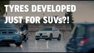 Tyres developed just for SUVs? | DriveTribe Discovers – Ep.1