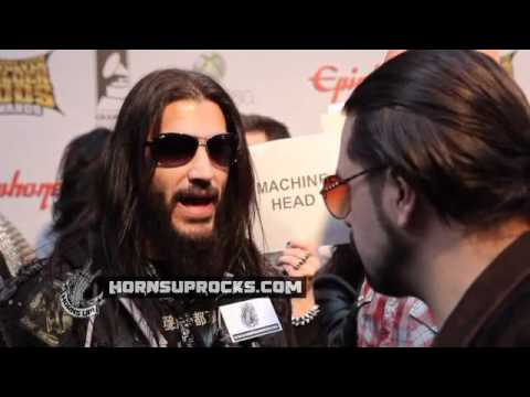MACHINE HEAD's Robb Flynn&Dave McClain Discuss Bands Evolution At The Revolver Golden Gods Awards!