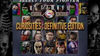 Curiosities of Ultimate Mortal Kombat 3 Arcade : Definitive Edition