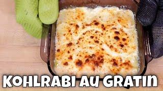 Kohlrabi au Gratin - Keto Friendly Substitute for Potatoes