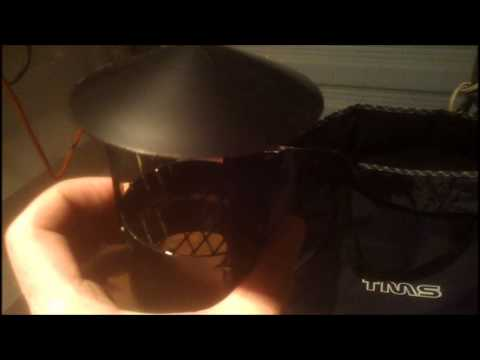 TMS 2346 Portable Wood Camping Survival Tent Stove Review