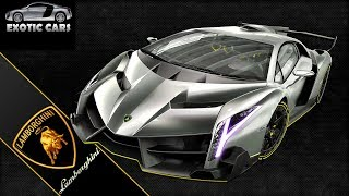 LAMBORGHINI VENENO ROADSTER on Track and Start up ACCELERATION SOUND