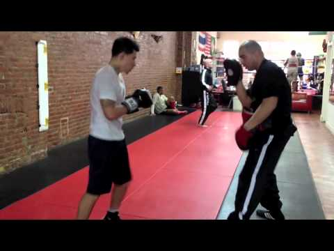 Focus Mitt Drills - Boxing Pad Work - Training Image 1