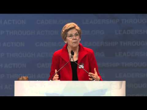 Elizabeth Warren at CA Democrats Convention 2015