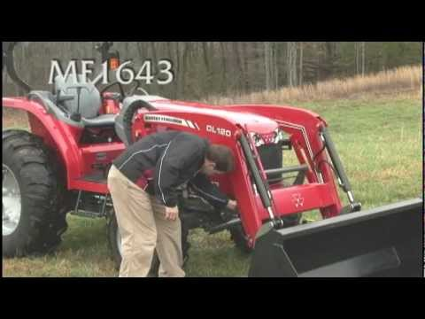 Massey Ferguson 1643 vs. New Holland 3040 / T2310 vs. Kubota 3940