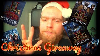 Which Map should I create next? | Christmas Giveaway 2018 [Age of Empires 2 HD]