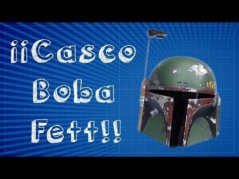 Cómo hacer el casco de Bobba Fett - Pepakura Designer [ 1 / 7 ]