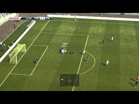 PES 2013 Demo Gameplay - PSG VS Chelsea FC