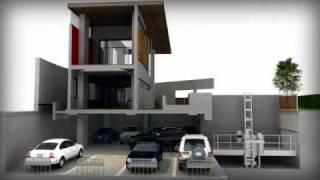 Car lift/Ascensore per auto IP1-HMT V07