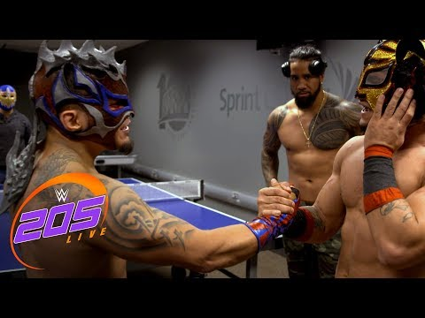 Kalisto & Lince Dorado celebrate The King of Flight's victory: WWE 205 Live Exclusive, Feb. 6, 2018 #1