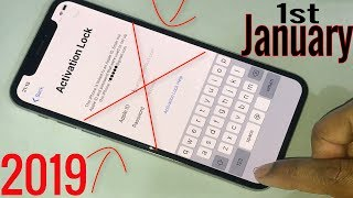 1st January 2019 DELETE iPhone/iPad iCloud Activation Lock!! Without Any Coast!! All iPhone iOS!!