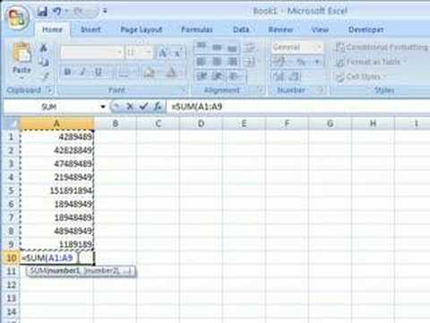 how to get anova on excel 2007