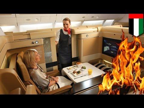 Fire on plane: arsonist sets fires on Etihad Airways flight