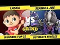 Smash Ultimate Tournament Laska Villager Vs Demise Seagull Joe Wolf The Grind 55 SSBU mp3