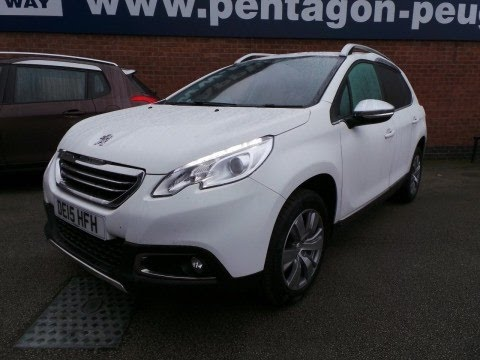 DE15HFH - Peugeot 2008 1.2 VTI Allure 5dr in White