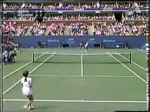 Martina Hingis vs Venus Williams The Us Open 1997 Final Highlights