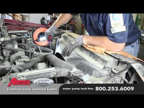 How to Install a Water Pump: 2002-97 Ford F-150 4.6L. 5.4L V8 WP-9097  AW4122