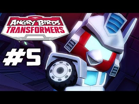 Angry Birds Transformers - Part 5 (unlocking Ultra Magnus) Ios Gameplay video