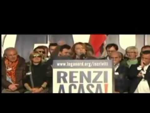 Giorgia Meloni in Piazza del Popolo lancia il fronte anti-Renzi