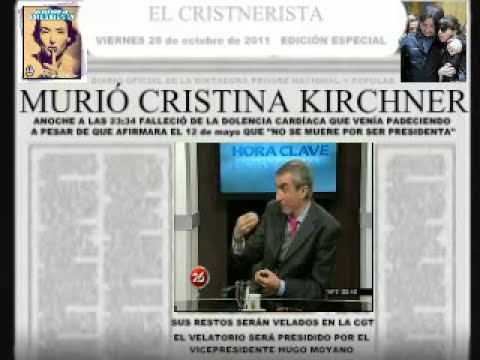 MURI CRISTINA KIRCHNER
