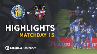 Highlights Getafe CF vs Levante UD (4-0)