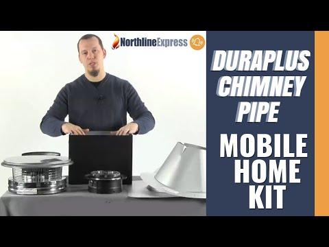 Dura Plus Chimney Pipe - Mobile Home Kit