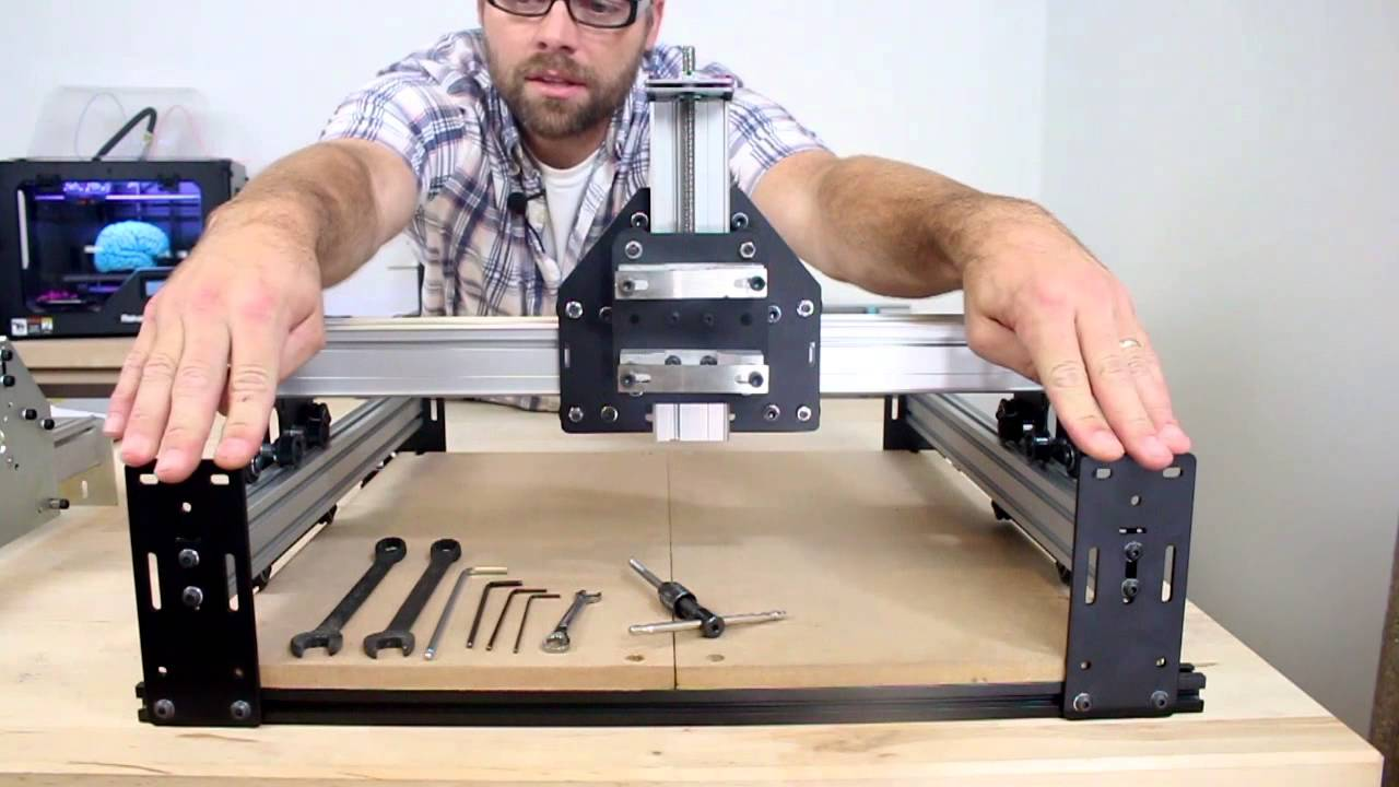 Edward Ford Discusses What S New With Shapeoko 2 Youtube