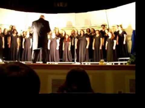 Mary Persons High School Women's Chorus - I wanna be Ready 3.11.13