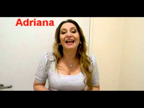Adriana - Saludando por mi cumpleaos