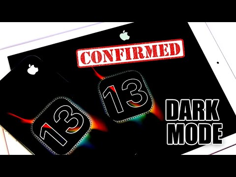 iOS 13 DARK MODE CONFIRMED & New iPadOS ?