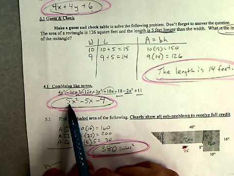 Sig Test  problems 3-5