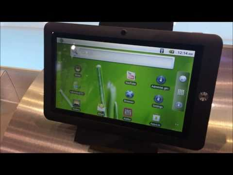 Coby Kyros line of tablets at CES 2011.