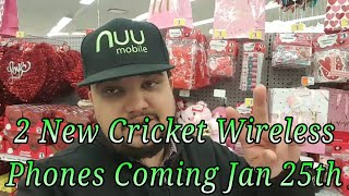 CRICKET WIRELESS 2 NEW DEVICES COMING JAN 25TH DETAILS SPECS LEAK!