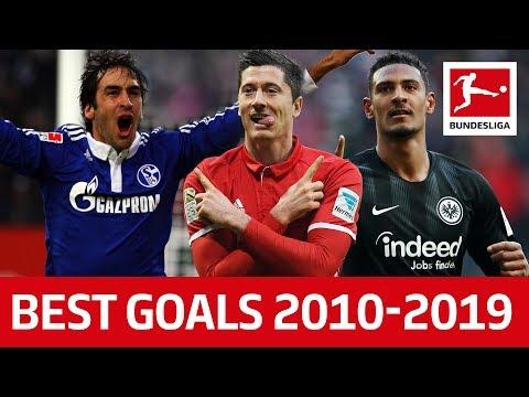 Top 10 Best Goals of The Decade 2010-2019 - Lewandowski, Haller, RaГl amp More
