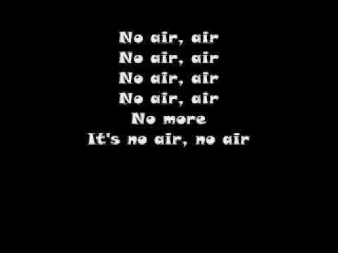 No Air (GLEE) - With Lyrics