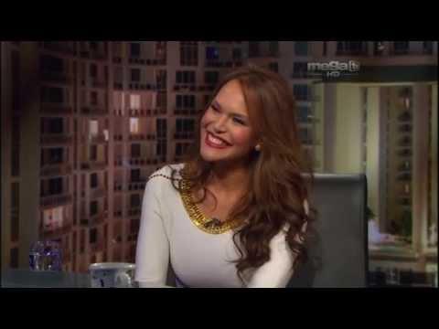 Jaime Bayly entrevista a la animadora dominicana Georgina Duluc.