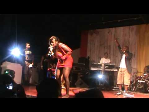 Fantasia Barrino- I Can't Stand The Rain, Come Together (live At Ambassador Hotel, Trinidad) video