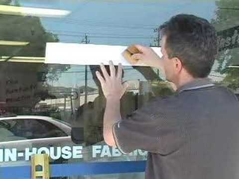 How to install vinyl graphics