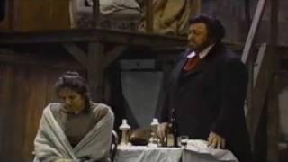 Luciano Pavarotti La Boheme Che Gelida Manina