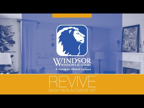 Windsor Windows and Doors: Revive Sash Replacement Kit