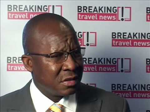 Pule Malefane, CEO Gauteng Tourism @ World Travel Market 2008