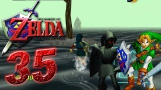 The Legend of Zelda Ocarina of Time - Let's Play The Legend of Zelda Ocarina of Time Part 35: Shadow Link Fight