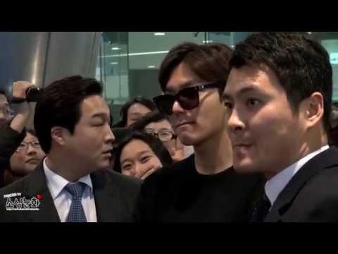 [직캠] 20150207 이민호 Incheon Airport 입국 (by.소심눈화)