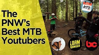 Shredding Bellingham, Wa With - Jordan Boostmaster, Loam Ranger, BCPOV & Daily MTB RIder - Part 1