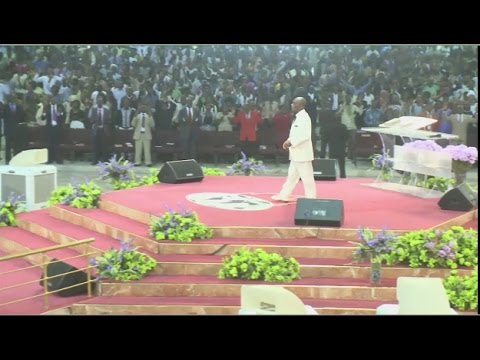 Bishop Oyedepo-covenant Day Of Breaking Invisible Barriers Sun.11th Jan.2015 video