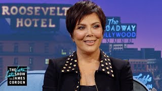 Kris Jenner Dishes On the Kardashian Xmas Card Fight