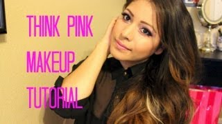 Makeup Tutorial using Think Pink Palette