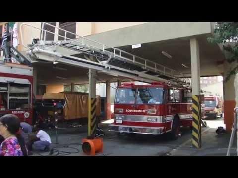 Bombeiros São Paulo - Abe Do Pb Casa Verde Saindo Em Código 2 video