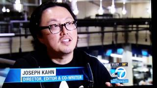 ABC Interview Joseph Kahn POWER/RANGERS