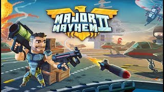 Major Mayhem 2 Action Arcade Shooter - Android Gameplay FHD